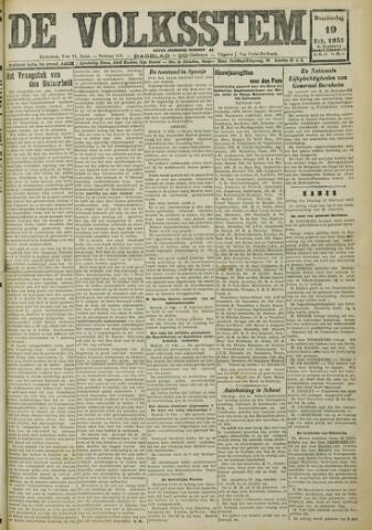 De Volksstem 1931-02-19