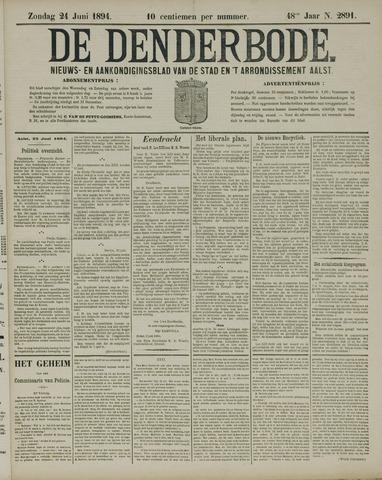 De Denderbode 1894-06-24