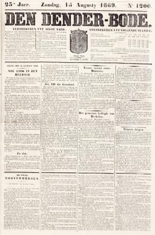De Denderbode 1869-08-15
