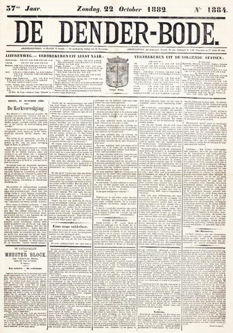 De Denderbode 1882-10-22