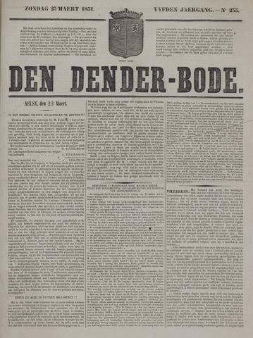 De Denderbode 1851-03-23