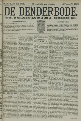 De Denderbode 1891-07-16