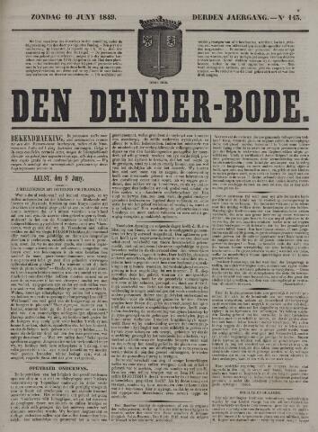 De Denderbode 1849-06-10