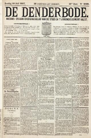 De Denderbode 1887-07-10