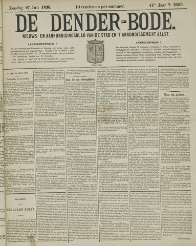 De Denderbode 1890-07-27