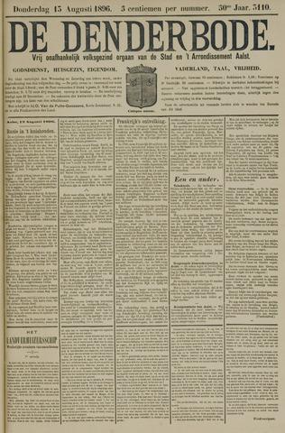 De Denderbode 1896-08-13