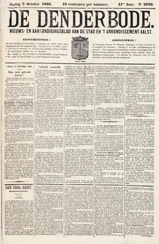 De Denderbode 1886-10-03
