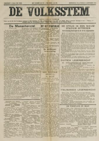 De Volksstem 1941-09-18