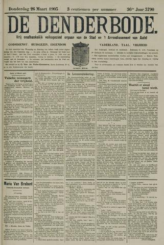 De Denderbode 1903-03-26