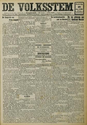 De Volksstem 1926-01-28