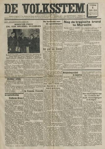 De Volksstem 1938-11-04