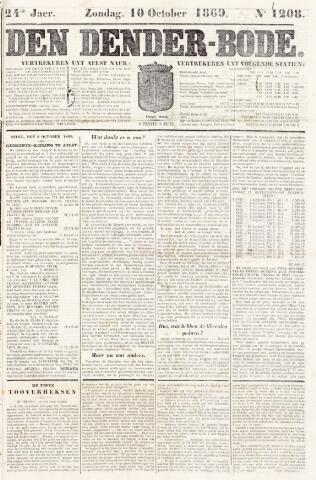 De Denderbode 1869-10-10