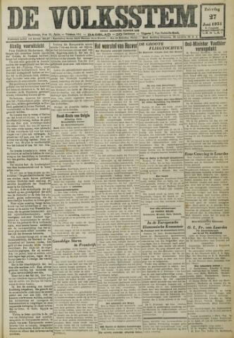 De Volksstem 1931-06-27