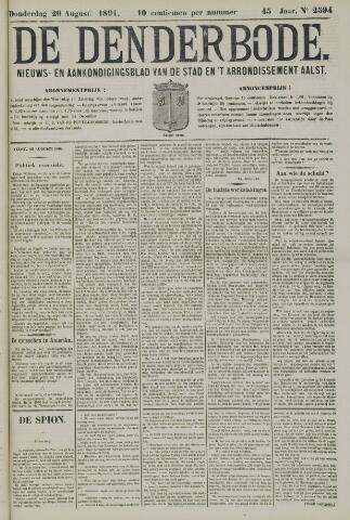 De Denderbode 1891-08-20