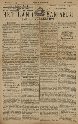 Het Land van Aelst 1910-02-20