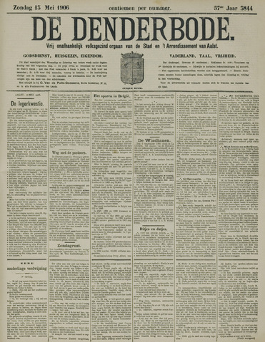 De Denderbode 1906-05-13