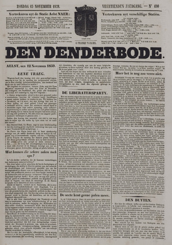 De Denderbode 1859-11-13