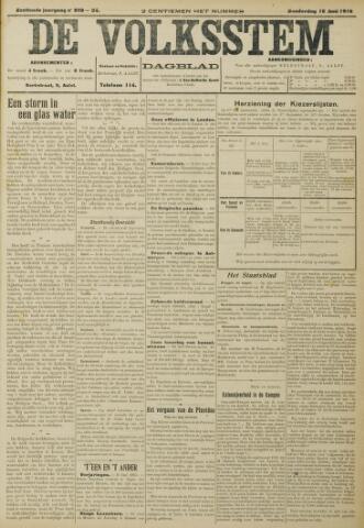 De Volksstem 1910-06-16