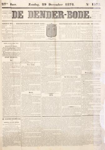 De Denderbode 1872-12-29