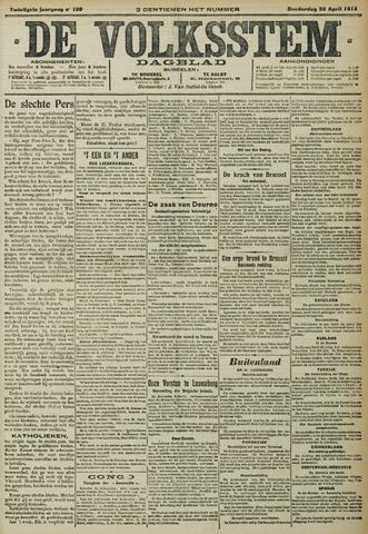 De Volksstem 1914-04-30