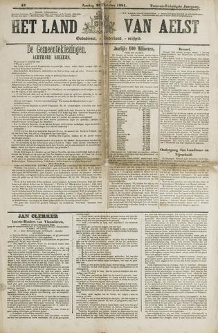 Het Land van Aelst 1881-10-23