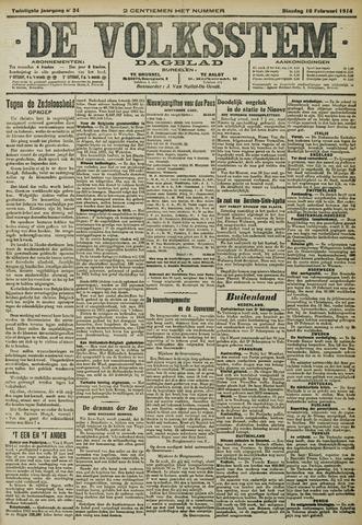 De Volksstem 1914-02-10