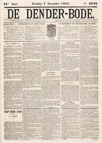 De Denderbode 1885-11-01