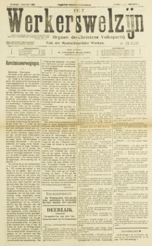 Werkerswelzijn 1922
