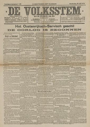 De Volksstem 1914-07-30