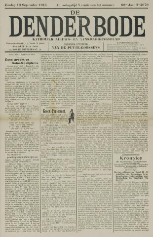 De Denderbode 1915-09-12