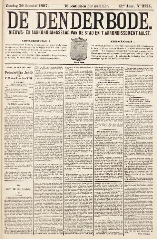 De Denderbode 1887-01-30
