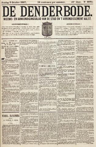De Denderbode 1887-10-09