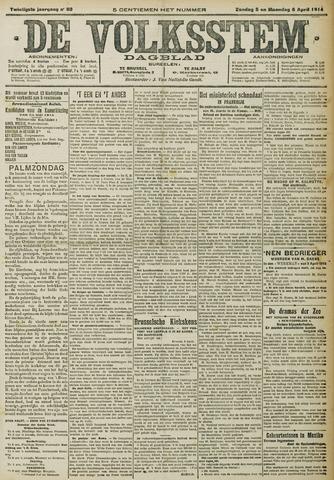 De Volksstem 1914-04-05