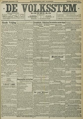 De Volksstem 1914-04-10