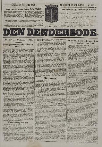De Denderbode 1860-08-26