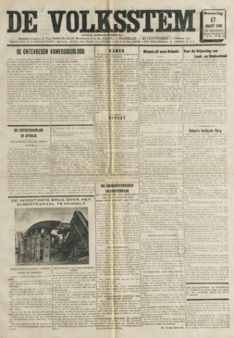 De Volksstem 1938-03-17
