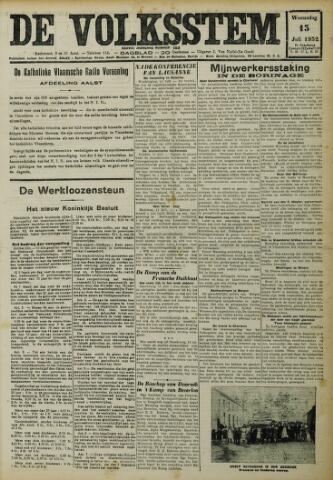 De Volksstem 1932-07-13