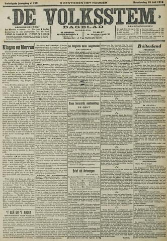 De Volksstem 1914-07-16