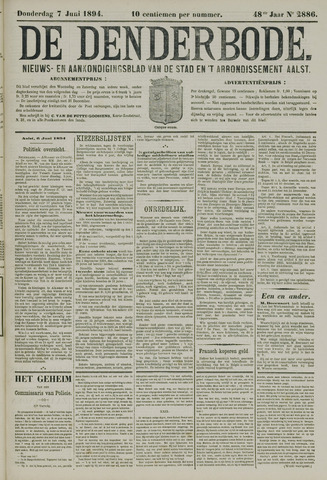 De Denderbode 1894-06-07