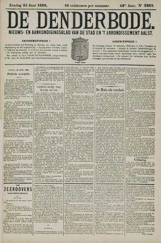 De Denderbode 1888-06-24