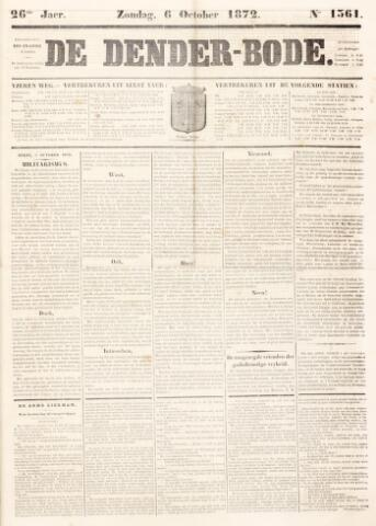 De Denderbode 1872-10-06