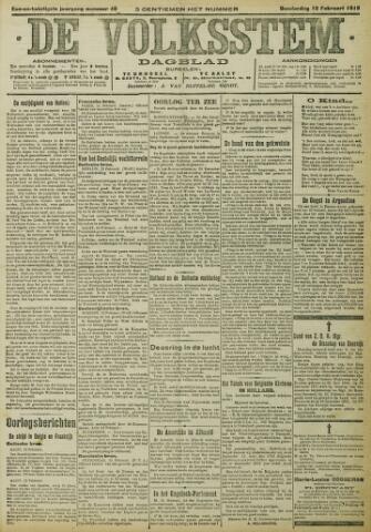 De Volksstem 1915-02-18