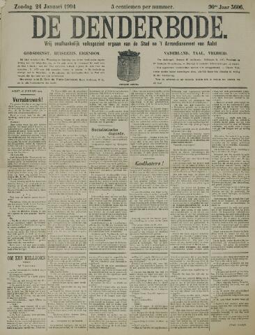 De Denderbode 1904-01-24