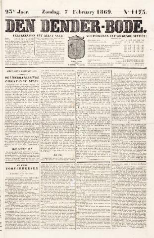 De Denderbode 1869-02-07