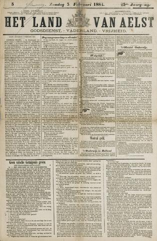 Het Land van Aelst 1884-02-03