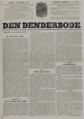De Denderbode 1853-10-02