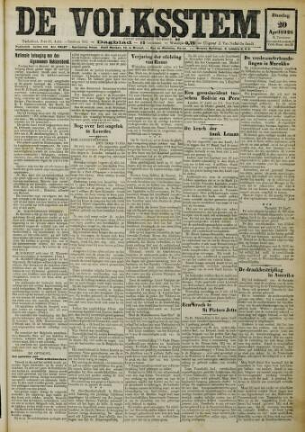 De Volksstem 1926-04-20