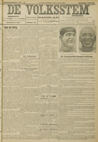 De Volksstem 1910-07-07