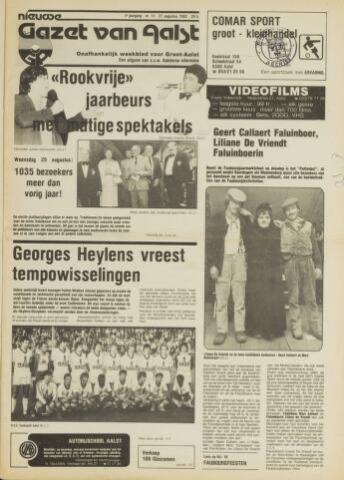 Nieuwe Gazet van Aalst 1982-08-27