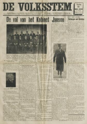 De Volksstem 1938-05-15